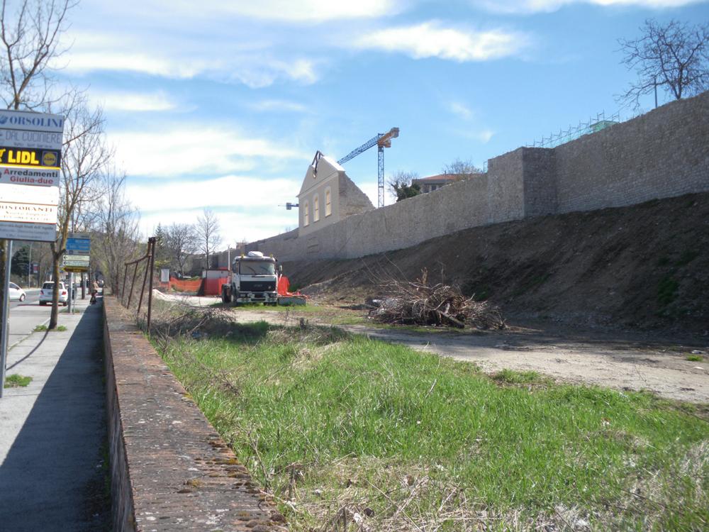 Le mura medievali finalmente recuperate | InAbruzzo.com